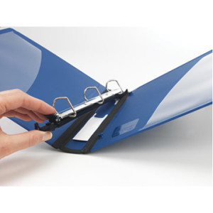 Staples(R) Better(R) Binder with Removable FileRings , Blue